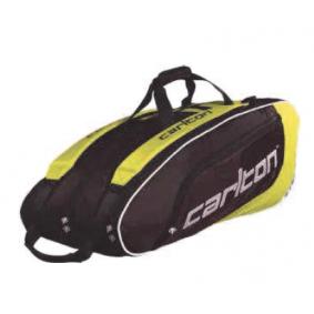 Tennis tassen - kopen - Carlton Pro Player Badminton Thermotas – 3 Compartiment – Geel
