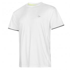 Tennis shirts - Tenniskleding - kopen - Dunlop AC Club Crew T-shirt Heren – Wit / Antraciet