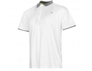 Tennis shirts - Tenniskleding - kopen - Dunlop AC Club Polo Heren – Wit / Antraciet – L