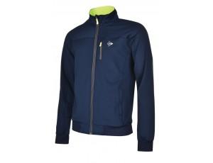 Tennis shirts - Tenniskleding - kopen - Dunlop AC Club Trainingsjasje Heren – Marineblauw / Antraciet