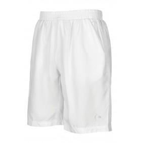Tennis broeken - Tenniskleding - kopen - Dunlop AC Club Geweven Korte Broek Heren – Wit