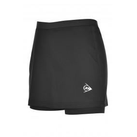 Tennis broeken - Tenniskleding - kopen - Dunlop AC Club Broekrok Dames – Zwart – XS