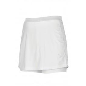 Tennis broeken - Tenniskleding - kopen - Dunlop AC Club Broekrok Dames – Wit – L