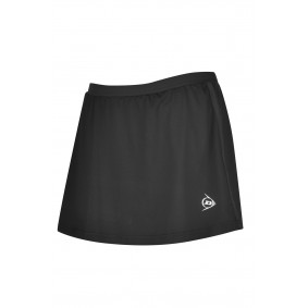 Tennis broeken - Tenniskleding - kopen - Dunlop AC Club Broekrok Meisjes – Zwart – 140
