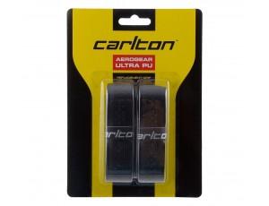 Tennis grips - kopen - Carlton Aerogear Ultra PU – 2 pack – Zwart
