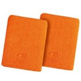 Sportaccessoires - Zweetband - kopen - Avento Sport Pols Zweetband – Paar – Oranje