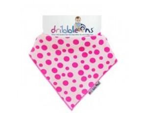 Bandana's - Tenniskleding - kopen - Dribble Ons – Bandana – Roze/Wit