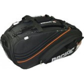 Tennis tassen - Tennistassen - kopen - Pacific BX2 Pro Bag XL – Tennistas – Voor 1 racket – Zwart/Oranje