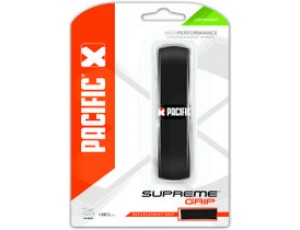 Gripvergroter - Tennis accessoires - kopen - Pacific Supreme Grip – Tennisgrip – 1.80mm – Zwart