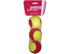 Tennisballen - kopen - Pacific X Play Stage 3 – Tennisbal – 3er net – Geel/Rood
