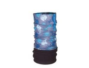 Bandana's - Tenniskleding - kopen - Sinner Fleece Bandana – Nekwarmer – Volwassenen – Blauw/Fishbone