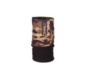 Bandana's - Tenniskleding - kopen - Sinner Fleece Bandana – Nekwarmer – Volwassenen – Bruin/Wood