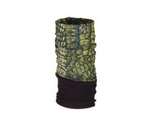 Bandana's - Tenniskleding - kopen - Sinner Fleece Bandana – Nekwarmer – Volwassenen – Groen/Reptile