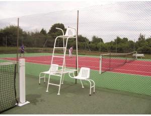 Veldinrichting - kopen - Tennis Scheidsrechter Zijkant Stoeltjes – Plastic gecoat Staal