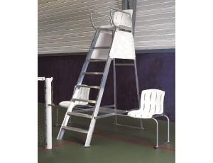 Veldinrichting - kopen - Tennis Scheidsrechter Zijkant Stoeltjes – Plastic gecoat Aluminium