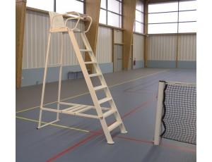 Veldinrichting - kopen - Tennis Scheidsrechter Stoel – Plastic gecoat Aluminium