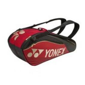 Tennis tassen - Tennistassen - kopen - Yonex Pro Bag 9626 -Tennistas – Badmintontas – Rood – 2 vakken tas