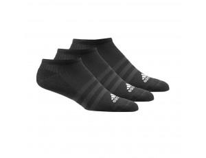 Tenniskleding - Tennissokken - kopen - adidas 3-stripes Performance No Show sokken laag 3 paar unisex zwart