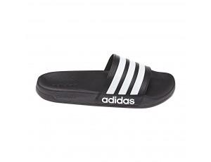 Tennisschoenen - Tennisschoenen dames - kopen - adidas Adilette Cloudfoam slippers zwart/wit