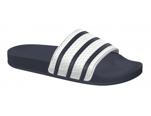 Tennisschoenen - Tennisschoenen dames - kopen - Adidas Adilette slippers wit/blauw