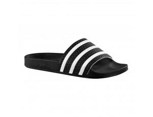 Tennisschoenen - Tennisschoenen dames - kopen - Adidas Adilette slippers zwart/wit