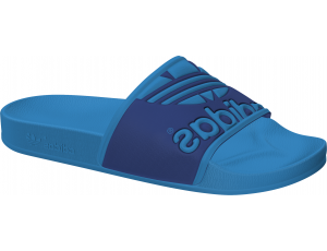 Tennisschoenen - Tennisschoenen dames - kopen - Adidas Adilette Trefoil slippers blauw