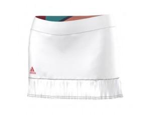 Tenniskleding - Tenniskleding dames - kopen - adidas Adizero tennisrokje wit/roze