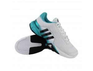 Tennisschoenen - Tennisschoenen heren - kopen - adidas Barricade 2016 tennisschoenen heren wit/mint/zwart