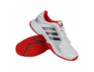 Tennisschoenen - Tennisschoenen heren - kopen - Adidas Barricade Court tennisschoenen heren wit/zilver/rood