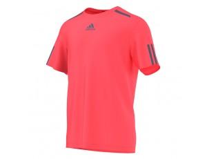 Tenniskleding - Tenniskleding heren - kopen - adidas Barricade tennisshirt heren roze/marine