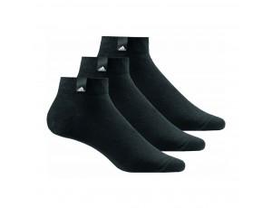 Tenniskleding - Tennissokken - kopen - adidas Benelux sokken half hoog 3 paar zwart unisex