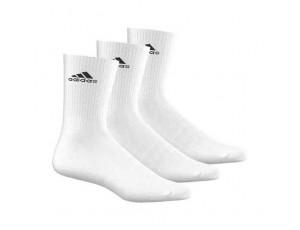 Tenniskleding - Tennissokken - kopen - adidas Benelux sokken hoog 3 paar wit unisex