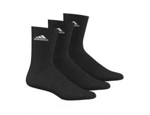 Tenniskleding - Tennissokken - kopen - adidas Benelux sokken hoog 3 paar zwart unisex