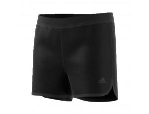 Tenniskleding - Tenniskleding junioren - kopen - adidas Chill sport short meisjes zwart