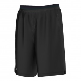 Tenniskleding - Tenniskleding heren - kopen - adidas Climachill short heren zwart/grijs