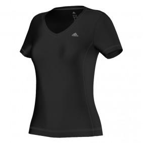 Tenniskleding - Tenniskleding dames - kopen - Adidas ClimaLite Essentials shirt dames zwart