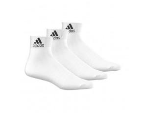 Tenniskleding - Tennissokken - kopen - adidas 3-pack half hoge sokken wit