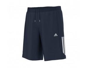 Tenniskleding - Tenniskleding heren - kopen - adidas Essential Mid Chelsea short heren marine/wit