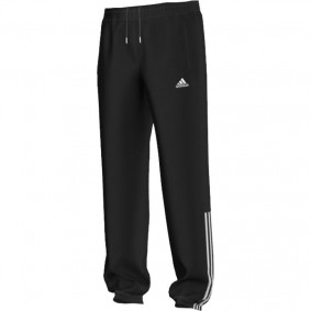 Tenniskleding - Tenniskleding heren - kopen - adidas Essentials Mid trainingsbroek heren zwart/wit