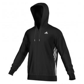 Tenniskleding - Tenniskleding heren - kopen - adidas Essentials MID vest heren zwart/wit