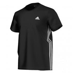 Tenniskleding - Tenniskleding heren - kopen - Adidas Essentials shirt heren zwart/wit