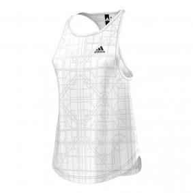 Tenniskleding - Tenniskleding dames - kopen - adidas Lightweight tank top dames wit