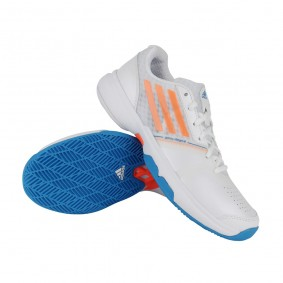 Tennisschoenen - Tennisschoenen dames - kopen - Adidas tennisschoenen Galaxy Allegra III wit/oranje dames