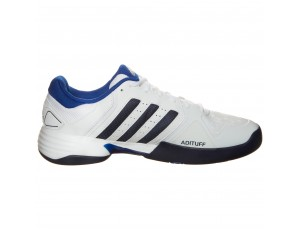 Tennisschoenen - Tennisschoenen heren - kopen - adidas Barricade Club Carpet tennisschoenen heren wit/marine/blauw