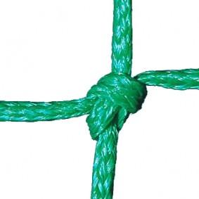 Tennisnetten - kopen - Tennisnet dubbel 3 mm – Groen