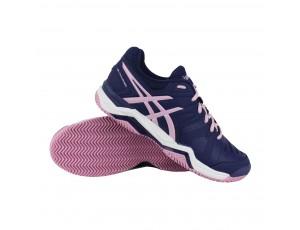 Tennisschoenen - Tennisschoenen dames - kopen - Asics Gel-Challenger 10 Clay tennisschoenen dames paars/roze