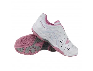 Tennisschoenen - Tennisschoenen dames - kopen - Asics Gel-Dedicate 4 outdoor tennisschoenen dames wit/roze