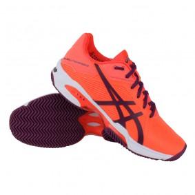Tennisschoenen - Tennisschoenen dames - kopen - Asics Gel-Solution Speed 3 Clay tennisschoenen dames oranje/paars