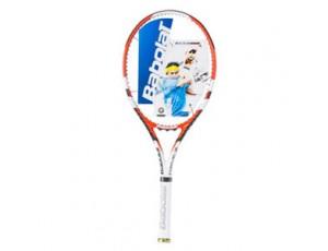 Tennis outlet - kopen - Babolat Drive Z Mid tennisracket zwart/oranje/wit