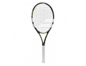 Tennisrackets - Tennisrackets heren - kopen - Babolat Evoke 102 tennisracket senior zwart/geel/wit